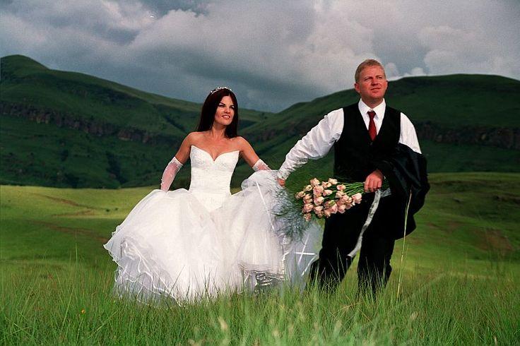 Cathedral peak wedding