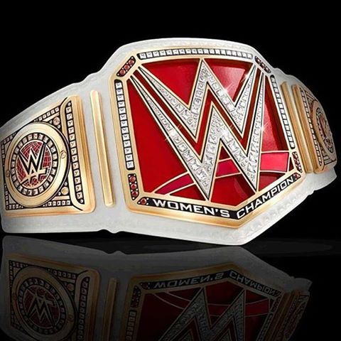 The new WWE Women's championship belt