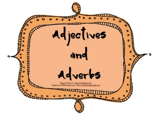 Pitner's Potpourri: Adjectives and Adverbs -- Freebie