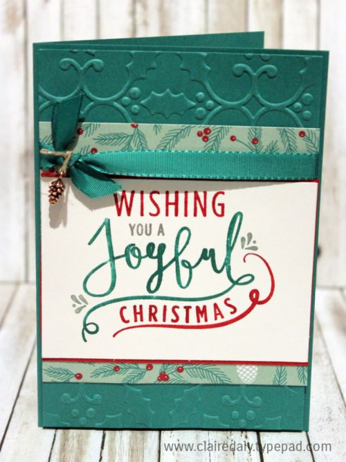 Stampin Up Holiday Catalogue 2016 sneak peek, Wonderful Year stamp set…