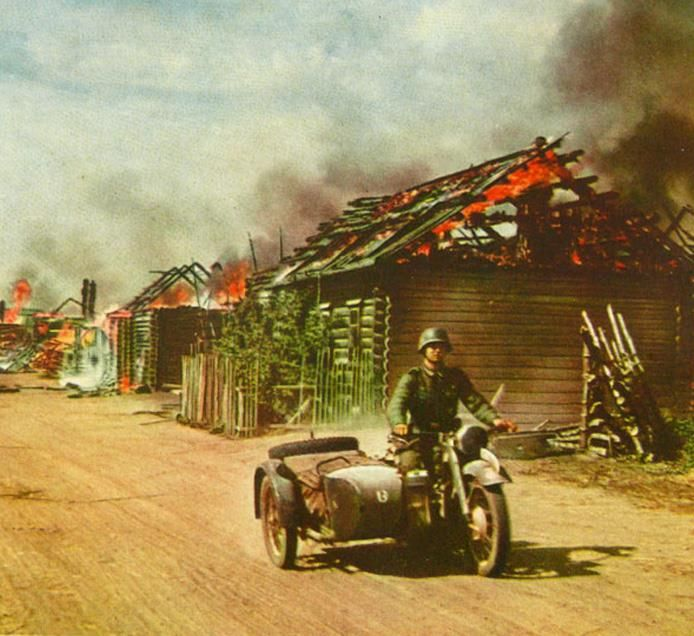 Operation Barbarossa in color, invasion into USSR | moto
