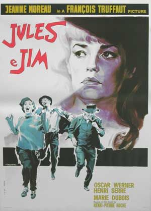 (1962) Criterion + _________________________ https://en.wikipedia.org/wiki/Jules_and_Jim  http://www.rogerebert.com/reviews/great-movie-jules-and-jim-1961 https://www.criterion.com/current/posts/369-on-jules-and-jim