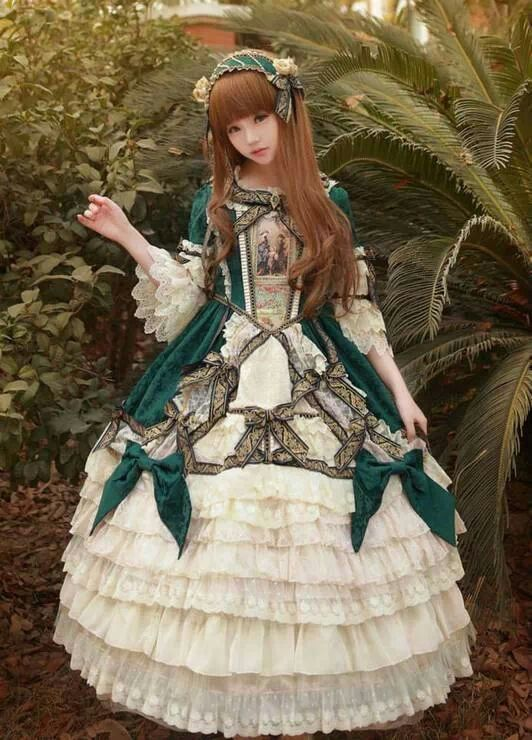 Victorian Lolita Dress                                                                                                                                                      More