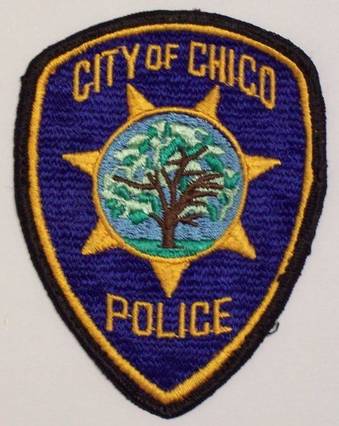 california police patches | Butte California College Police Patch