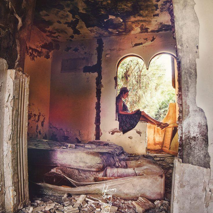 Peace by Kloxx.deviantart.com on @deviantART #abondoned #portrait
