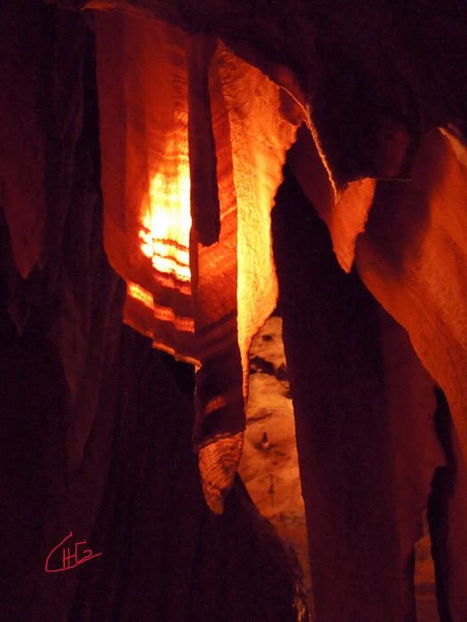Old Ancient Grotte agdalene south France Photography Colette H Guggenheim