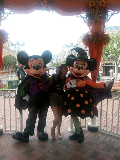 Disneyland Hongkong in 香港