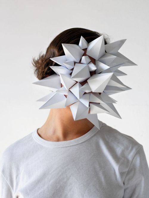 Héctor Sos 'Paper faces' - pinned by RokStarroad.com