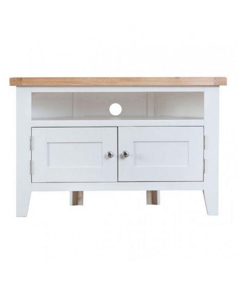 Schreibtischplatte ecke  Die besten 25+ Oak corner tv unit Ideen auf Pinterest   TV ...