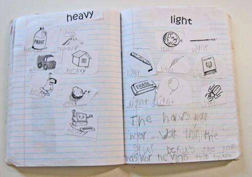 Kindergarten Kindergarten: Math Problem-Solving notebooks