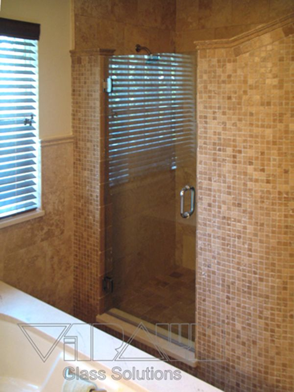 14 best Single Door Showers images on Pinterest | Bathroom shower ...