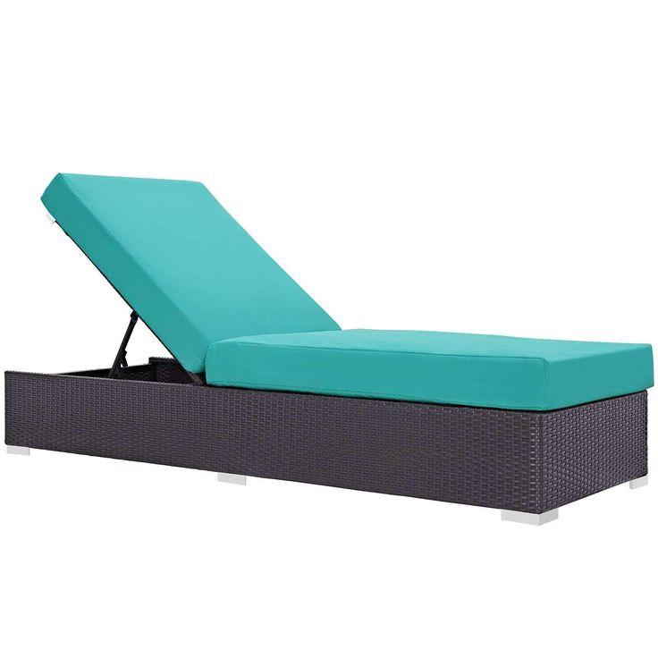 Convene Outdoor Patio Chaise Lounge EEI-1846