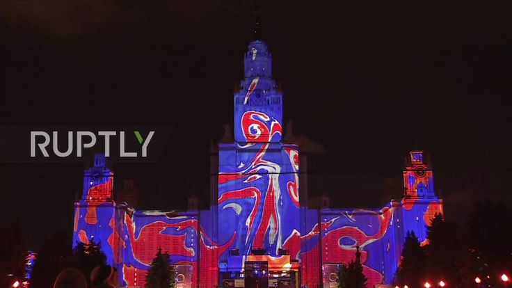 Russia: Moscow's Circle of Light festival attempts new Guinness World Re...