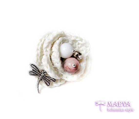 Adjustable #ring Blossom Maeva #flower by Ma eva bohemian #style
