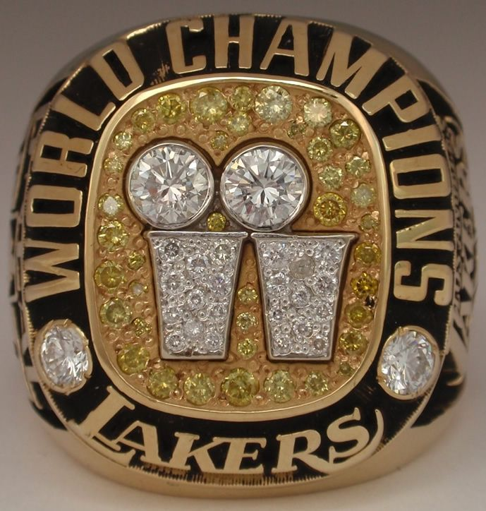 2001 NBA Championship Ring - Lakers