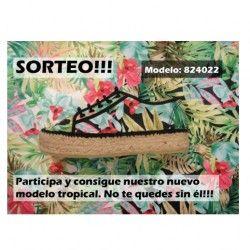 Gana el nuevo modelo tropical ^_^ http://www.pintalabios.info/es/sorteos_de_moda/view/es/3890 #ESP #Sorteo #Calzado