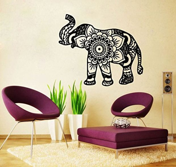 Elephant Wall Decor 22 best vinal wall decals images on pinterest | wall decals