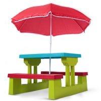 Unsere Kindersitzgruppe bietet Ihren Kleinsten eine tolle und robuste Sitzgelegenheit zum spielen, essen uvm.