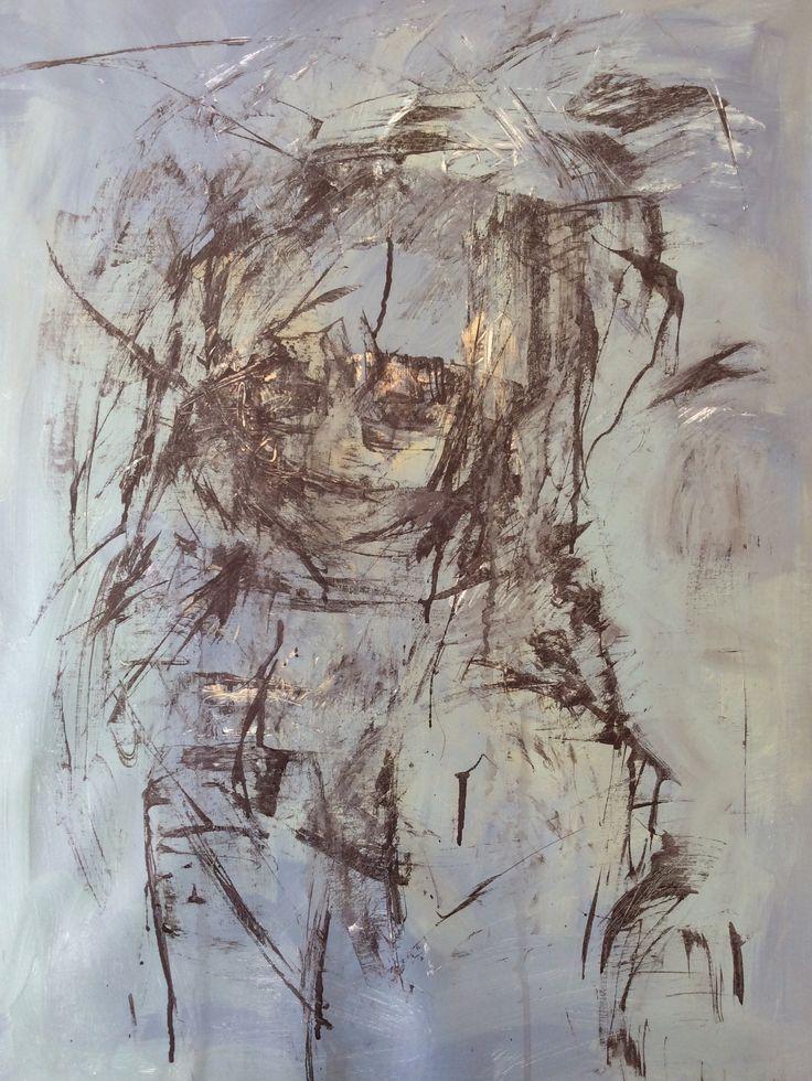 """""""Portrait of a lady"""" Mixedmedia"""