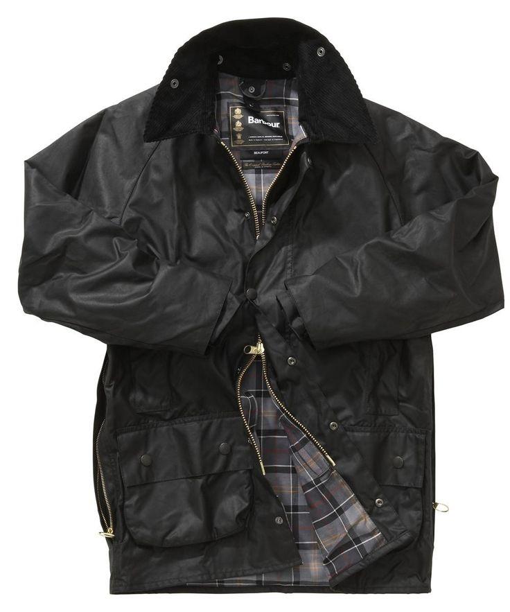 Men's Barbour Beaufort Jacket || Black