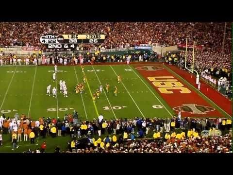 ▶ 2006 Rose Bowl 4th Quarter HD - Texas vs. USC - YouTube- I called the winner that year.