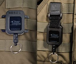 GearKeeper-combo molle mount : 2 Molle Attachment options in 1