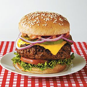 Out-n-In California Burger from Cooking Light Crave!   CookingLight.com