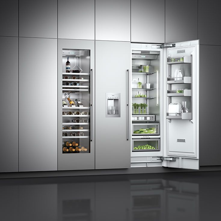 The Vario cooling 400 series modular family sets new technical standards and offers countless combinations of refrigerators, freezers and fridge-freezers. Partner with wine climate cabinets to form a truely impressive display.