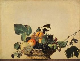 Michelangelo Caravaggio, dit le Caravage - Le panier de fruit