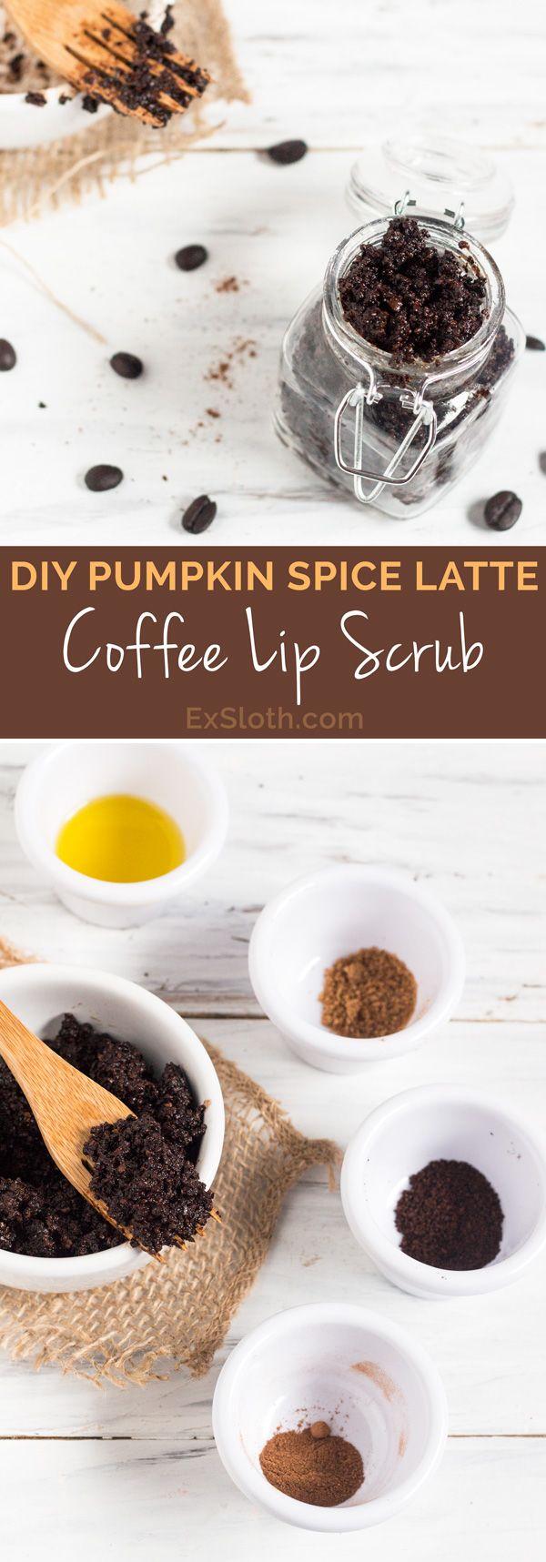 ¼ cup coarsely ground coffee beans 1 tbsp brown sugar 1 tbsp pumpkin pie spice 2½ tbsp carrier oil 1 tsp vanilla extract