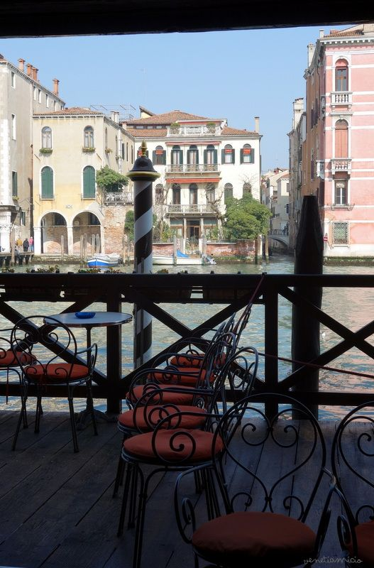 Ca'Favretto vue sur le Grand Canal