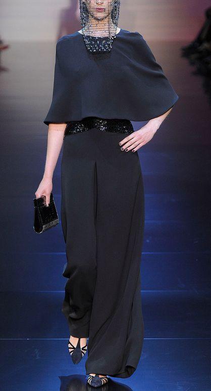 Armani Prive Fashion Show & more details