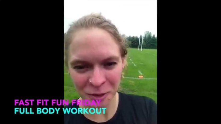 Shuttle Run Intervals!  Happy Friday! This workout features a shuttle run using shuffles and jogging. Have fun!  *note: no new FFFFFBW for June 19th -I will be away!  Facebook: Personal Training with Stephanie Thompson