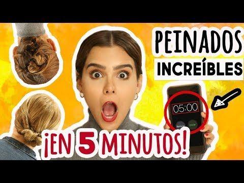 ¡RETO: PÉINATE INCREÍBLE EN 5 MINUTOS! ♥ - Yuya - YouTube