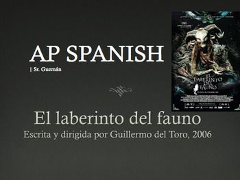 Pan' Labyrinth | El laberinto del fauno. Pre-Reading, During and Post Viewing Activities. Includes: Bell Ringers Pre-Reading Questions Information about the Movie, Film Director, Historical Facts about the Spanish Civil War During Watching Think Pair Share. Great for Unit Beauty and Aesthetics: El Arte and or Realismo Mágico
