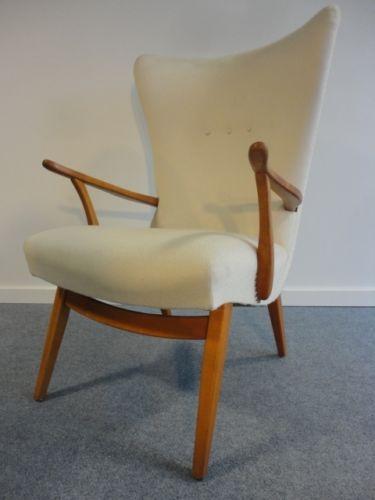 50u0027s Knoll Sessel Ohrensessel Easy Chair Loungesessel | EBay