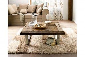 1000 id es sur le th me table basse bois brut sur for Table basse bois naturel