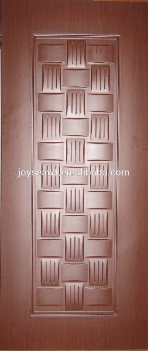 solid wooden bathroom interior door