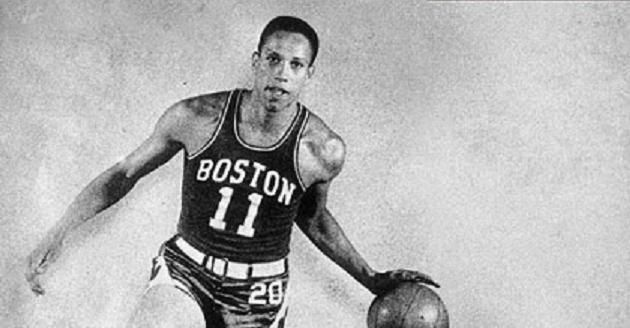 Chuck Cooper, the first African American player drafted by an NBA team (The Boston Celtics)