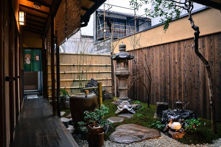 """House in Kyoto, Japan. Cozy & comfortable twin room in Kyoto. Located at """"Guesthouse Bokuyado"""", a 70-year-old traditional Japanese wooden townhouse near Kyoto Station. There is no bathroom inside the room.The owner also lives on the 1F.  Guesthouse Bokuyado"""", a 70-year-..."""