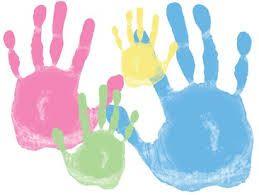 Výsledek obrázku pro otisky rukou rodina