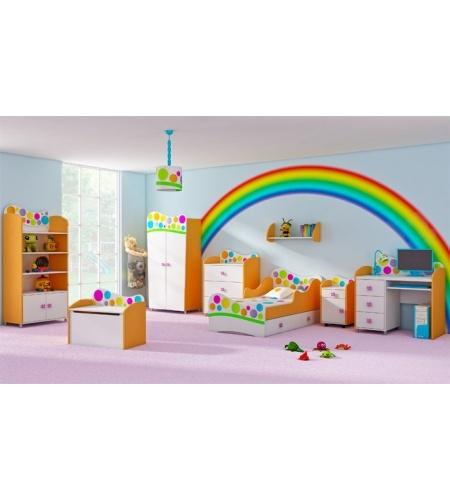 Rainbow Kids Room: 107 Best Nephew Isaac's Rainbow Room Images On Pinterest