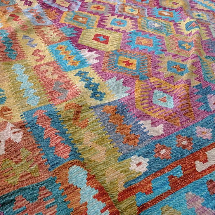 Our collection of vegetable dye kilims are hand dyed and hand woven, creating unique variations of colour and pattern. 🌞  #kilim #kilims #unique #pattern #natural #handmade #madebyhand #art #design #wool #rozelle #sydney #sydneystyle #sydneyinteriors #australianinteriors #carpet #carpets #interior #showroom #interiordesign #interiorinspo #interiorinspiration #homedesign #homedecor #homestyle #colourful #vibrant