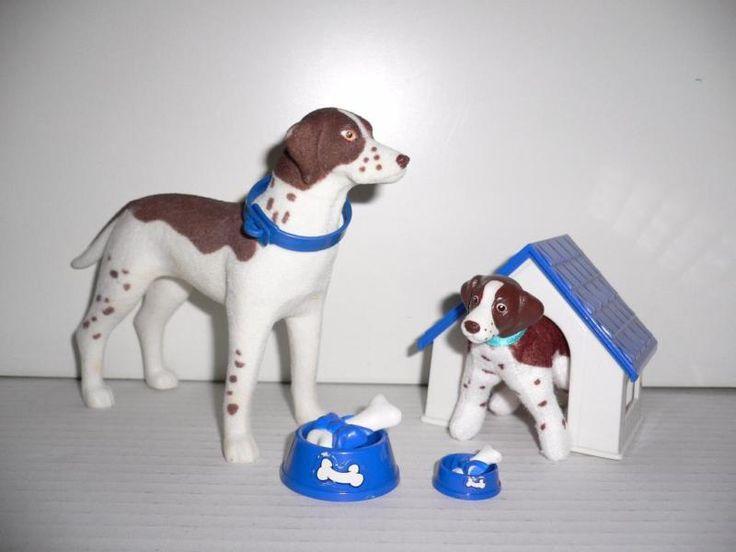 Mattel Barbie Hund mit Welpe und Hundehütte JagdhundZustand:Sehr gut, minimale…