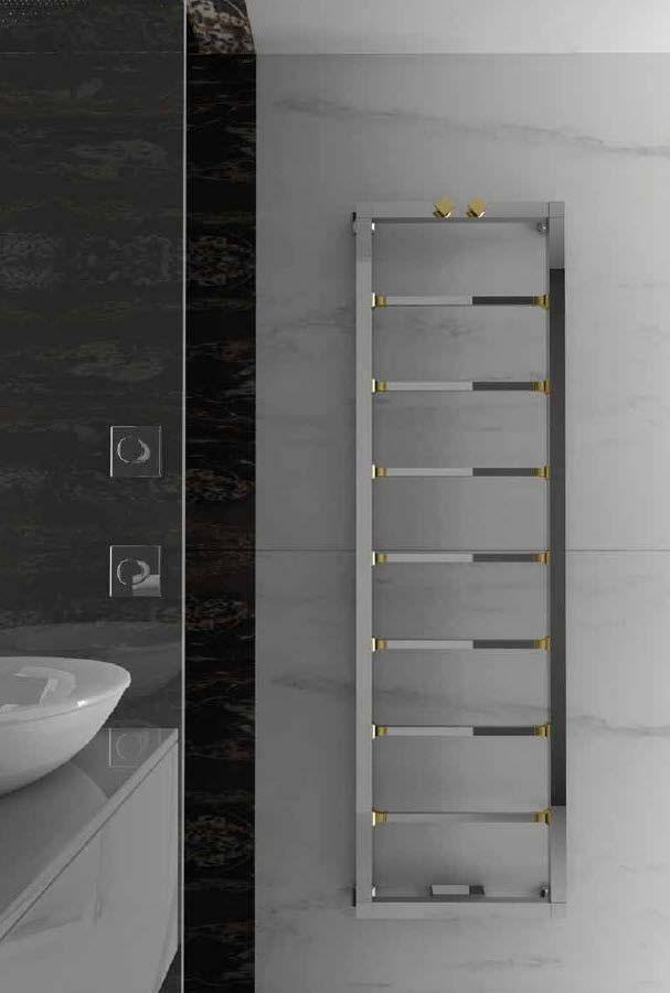 Горячее полотенце водяной радиатор / латунь / современный / вертикальный ОЧАРОВАТЕЛЬНЫЙ 47 по F.Lucarelli & B. Rapisarda SCIROCCO H