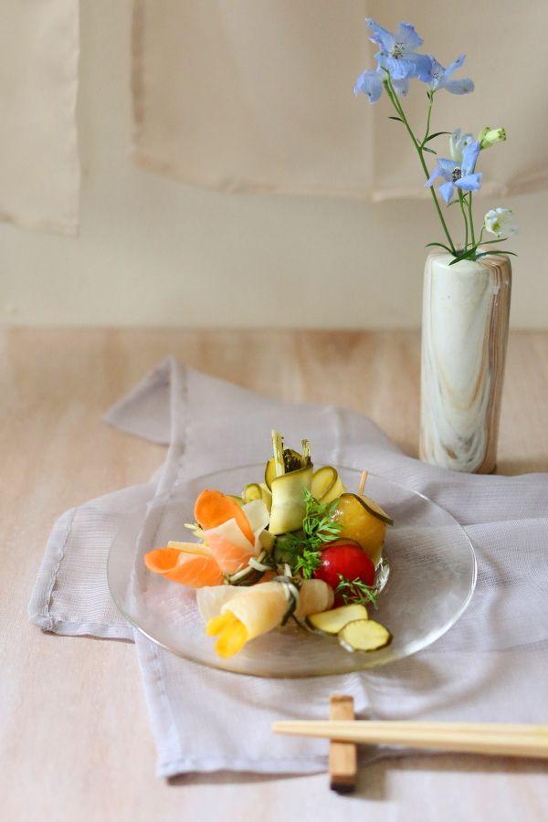 ひらひら野菜&とろけるミニトマトのピクルス by 前澤 泰爾 | レシピ ...