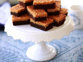 Leilas choklad- och kokosrutor | Recept från Köket.se