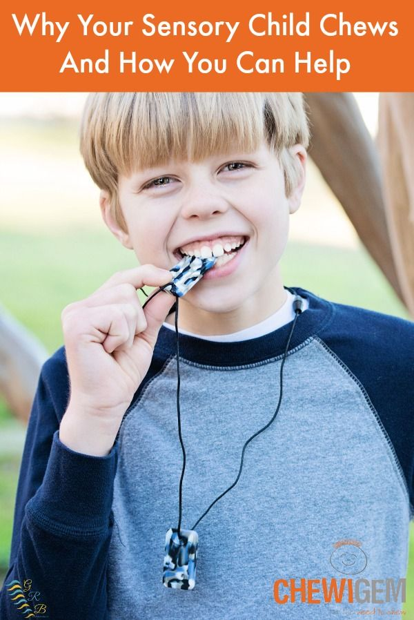Why Your Sensory Child Chews And How You Can Help