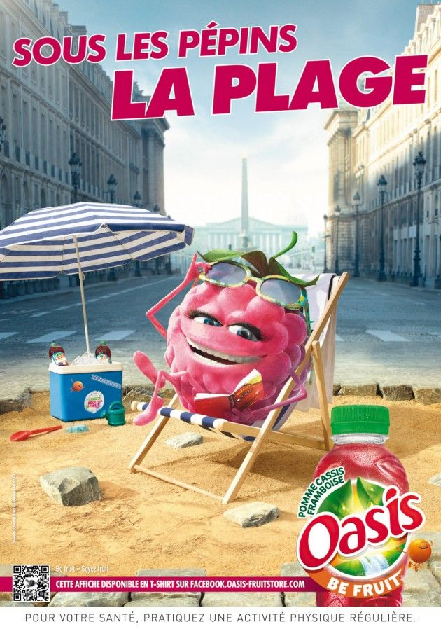 Oasis part en campagne avec des annonces qui devraient se faire remarquer. Cette campagne d'affichage intitulée « Mangue in France ». Explorez les différentes régions françaises avec vos apprenants!