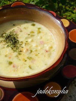 Jade konyhája: Karfiolkrémleves sonkával